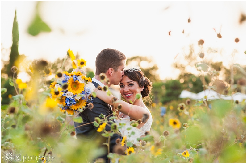 le-san-michele-wedding-photos-sunflowers