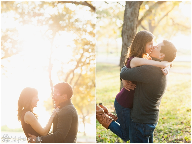 white rock lake park engagement photos 0008 Jennifer and Armandos Romantic Dallas Engagement Session at White Rock Lake Park
